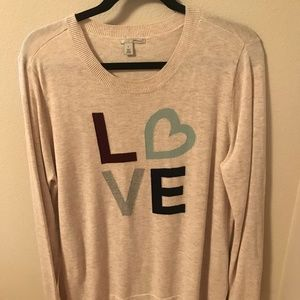 Halogen LOVE Lightweight Sweater Size XL